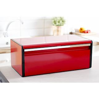 Chlebak metalowy BRABANTIA FALL FRONT BREAD PASSION RED