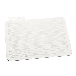 Deska do krojenia plastikowa KOZIOL HAPPY BOARDS BOSS BIAŁA 25 x 19,8 cm