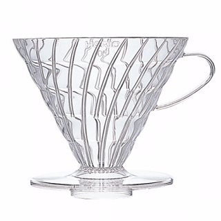 Dripper / Filtr do kawy plastikowy HARIO DRIPPER CLEAR V60-03