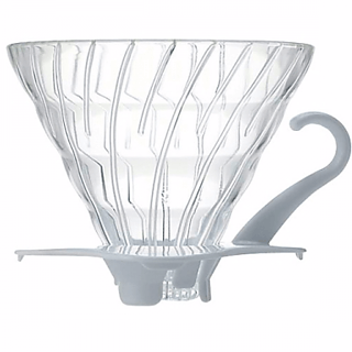 Dripper / Filtr do kawy szklany HARIO DRIPPER V60-02