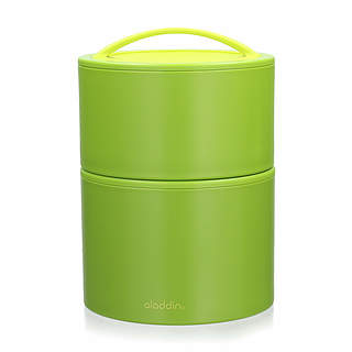 Dwojak / Lunch box plastikowy ALADDIN BENTO GREEN 0,9 l