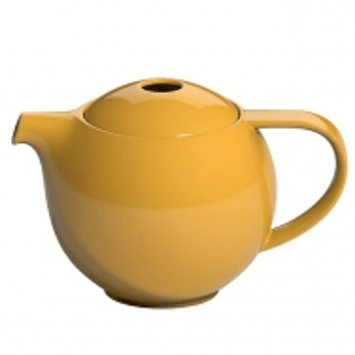 Dzbanek porcelanowy z zaparzaczem LOVERAMICS PRO TEA YELLOW 0,6 l