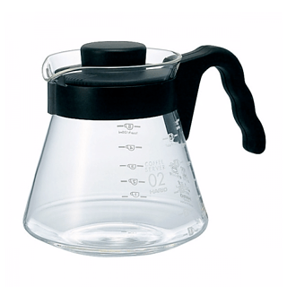 Dzbanek szklany HARIO COFFEE SERVER BLACK 0,7 l