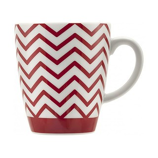 Filiżanka do kawy i herbaty porcelanowa BIALETTI POP RED WIELOKOLOROWA 325 ml