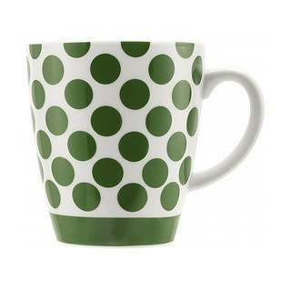 Filiżanka do kawy i herbaty porcelanowa BIALETTI POP GREEN WIELOKOLOROWA 325 ml
