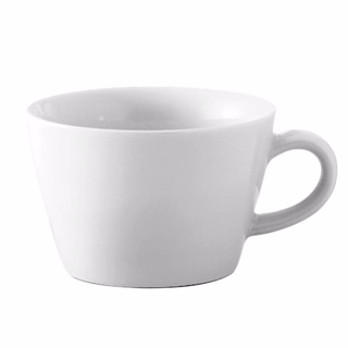 Filiżanka do cappuccino porcelanowa KAHLA FIVE SENSES BIAŁA 250 ml