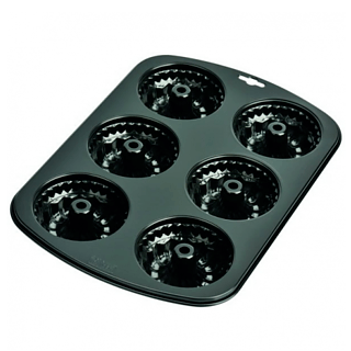 Forma do pieczenia 6 muffinek metalowa KAISER MUFFIN WORLD MAXI