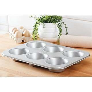 Forma do 6 muffinek PATISSE SILVER-TOP