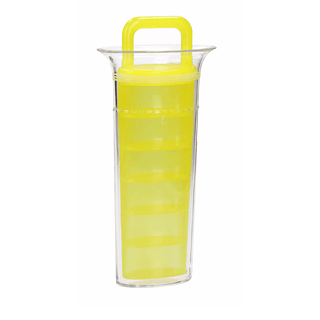 Forma do kostek lodu plastikowa PICK AND DRINK YELLOW