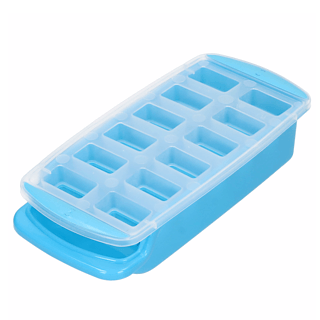 Forma do kostek lodu plastikowa z tacką ICE MIX 25 x 12 cm