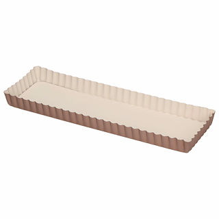 Forma do tarty metalowa PATISSE CERAMIC BEŻOWA 35 x 11 cm