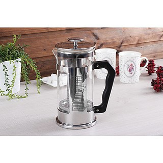 French press / Zaparzacz do kawy szklany BIALETTI FRENCH PRESS 1 l