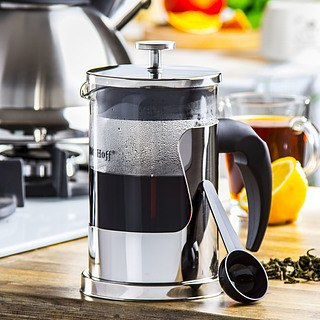 French press / Zaparzacz do kawy tłokowy szklany KINGHOFF COFFEE 0,8 l