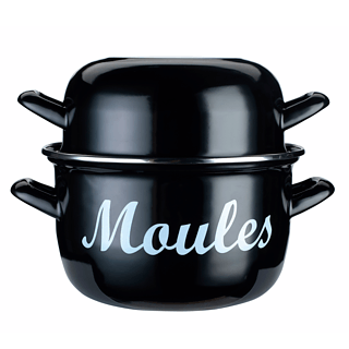 Garnek do małży emaliowany KITCHEN CRAFT WORLD OF FLAVOURS MOULES