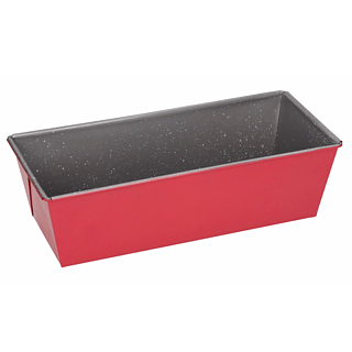 Keksówka / Forma do pieczenia chleba i pasztetu metalowa FLORINA SWEET HOME RED 26 x 11,5 cm