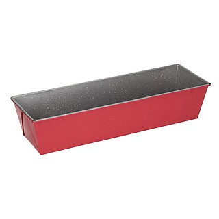 Keksówka / Forma do pieczenia chleba i pasztetu metalowa FLORINA SWEET HOME RED 35 x 11,5 cm