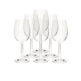 Kieliszki do wina szklane KROSNO BASIC GLASS 250 ml 6 szt.