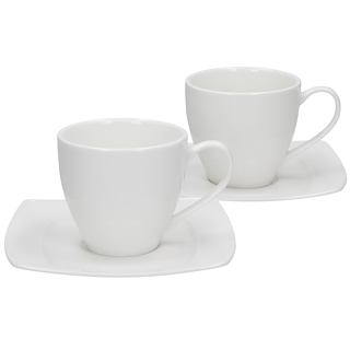 Komplet 2 filiżanek porcelanowych DUO BETA 200 ml