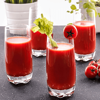 Komplet 4 szklanek do drinków KROSNO BLOODY MARY DRINKI ŚWIATA
