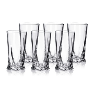 Komplet 6 szklanek LONG DRINK 350 ml