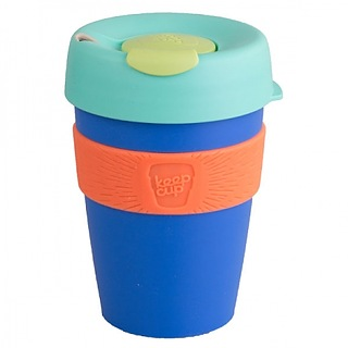 Kubek do kawy plastikowy z pokrywką KEEPCUP ALCHEMY MELCHIOR 340 ml