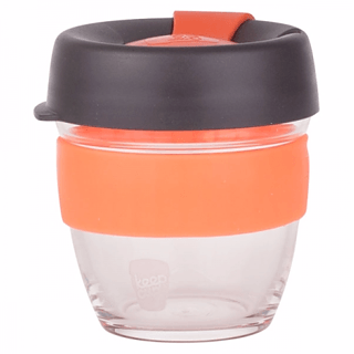 Kubek do kawy szklany z pokrywką KEEPCUP BREW ALCHEMY MAGNUM 227 ml