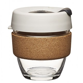 Kubek do kawy szklany z pokrywką KEEPCUP BREW CORK FILTER 227 ml