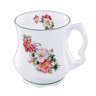 Kubek porcelanowy babuni DAVID MICHAEL ANEMONY 400 ml