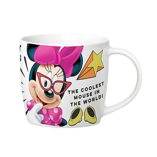 Kubek porcelanowy DISNEY MINNIE MOUSE COOL BIAŁY 300 ml