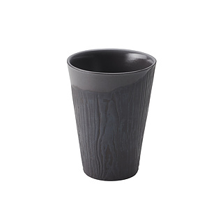 Kubek do espresso porcelanowy REVOL ARBORESCENCE GRAFITOWY 80 ml