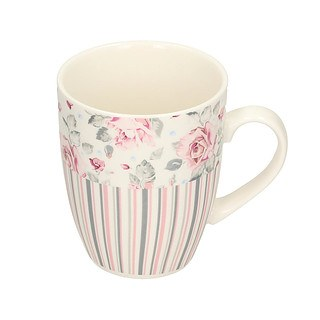 Kubek porcelanowy DUO SHABBY CHIC 400 ml