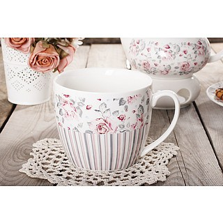 Kubek porcelanowy DUO SHABBY CHIC 800 ml