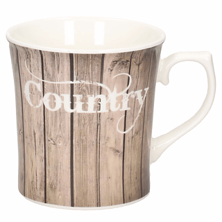 Kubek porcelanowy HERMES COUNTRY 450 ml