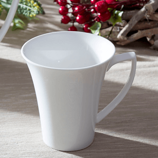 Kubek porcelanowy HOME DELUX QUATRE 240 ml