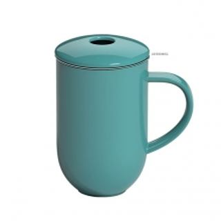 Kubek porcelanowy z zaparzaczem LOVERAMICS PRO TEA TEAL 450 ml