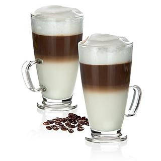 Kubek / Szklanka do kawy latte TESCOMA CREMA GLASS 300 ml