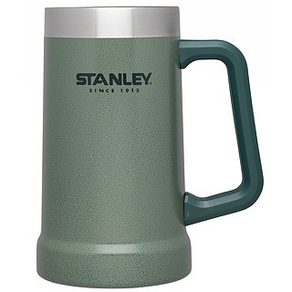 Kufel do piwa stalowy STANLEY ADVENTURE CIEMNOZIELONY 700 ml