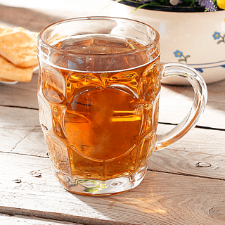 Kufel do piwa szklany BEER 500 ml