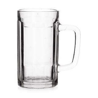Kufle do piwa szklane BEER MUG 500 ml 2 szt.