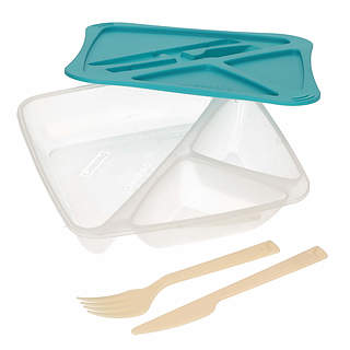 Lunch box BRAMLI LUNCH TIME TURQUOISE