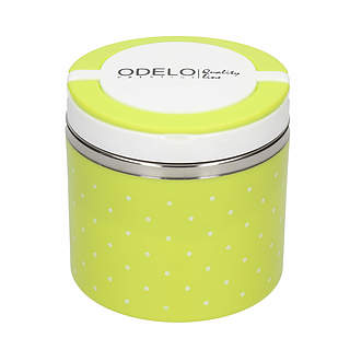 Lunch box ODELO PRESTIGE GROSZKI ZIELONY 0,7 l