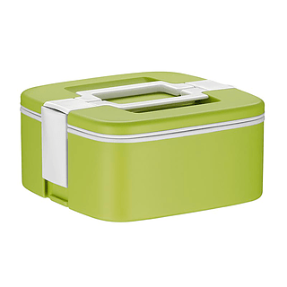Lunch box plastikowy ALFI CHECK ZIELONY 0,75 l