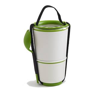 Lunch box plastikowy BLACK BLUM POT ZIELONY