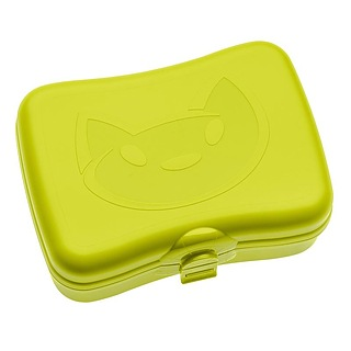 Lunch box plastikowy KOZIOL MIAOU ZIELONY