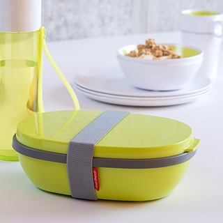 Lunch box plastikowy ROSTI MEPAL DUO ZIELONY