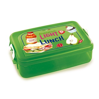 Lunch box plastikowy SNIPS ENERGY ZIELONY
