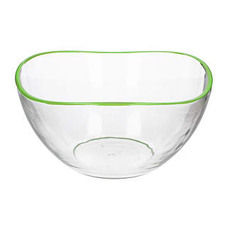 Miska / Salaterka szklana GLASMARK BIG ZIELONY 1,5 l