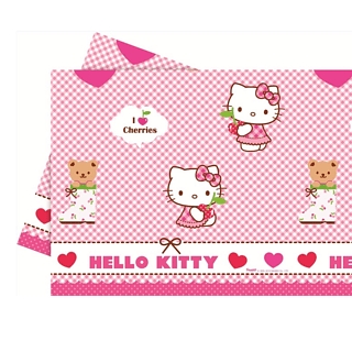 Obrus foliowy HELLO KITTY 180 x 120 cm