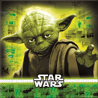 Obrus foliowy DISNEY STAR WARS 180 x 120 cm