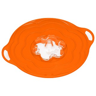 Pokrywka silikonowa SILIKOMART TWIST ORANGE 30 cm
